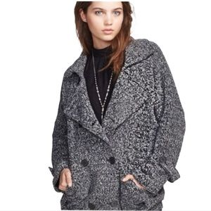 FREE PEOPLE SLOUCHY SWEATER JACKET M
